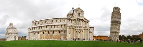 A maravilhosa Piazza dei Miracoli