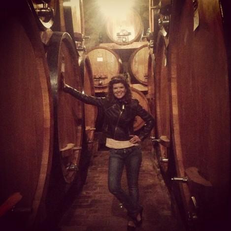 Minha paixão pelos vinhos Toscanos