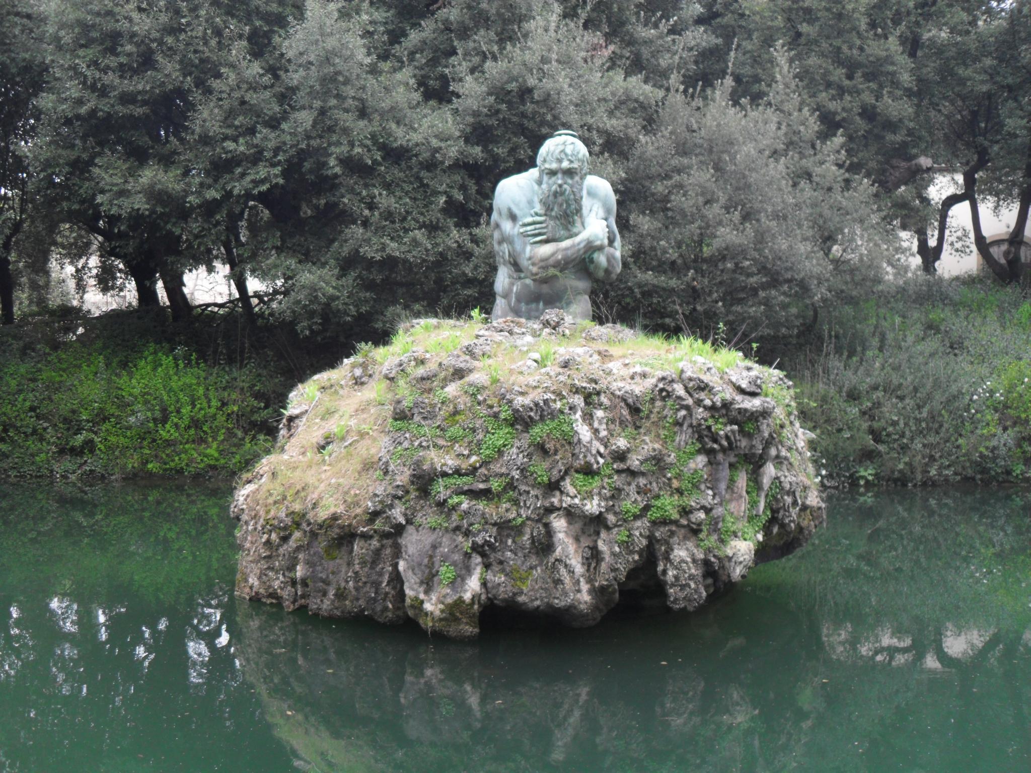 Jardim da Villa Castello - Apenino, obra de Ammanati