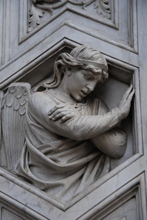 """O anjo """"blasfemo"""" da Catedral de Florença!"""