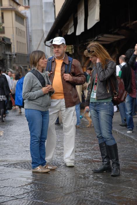 No Ponte Vecchio