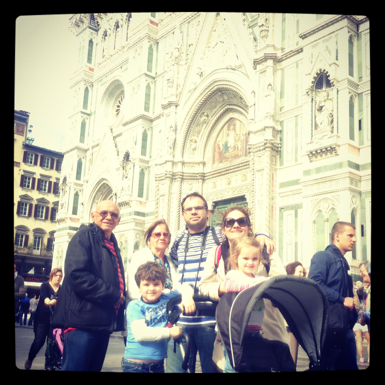 Passeio em família - city tour em Florença