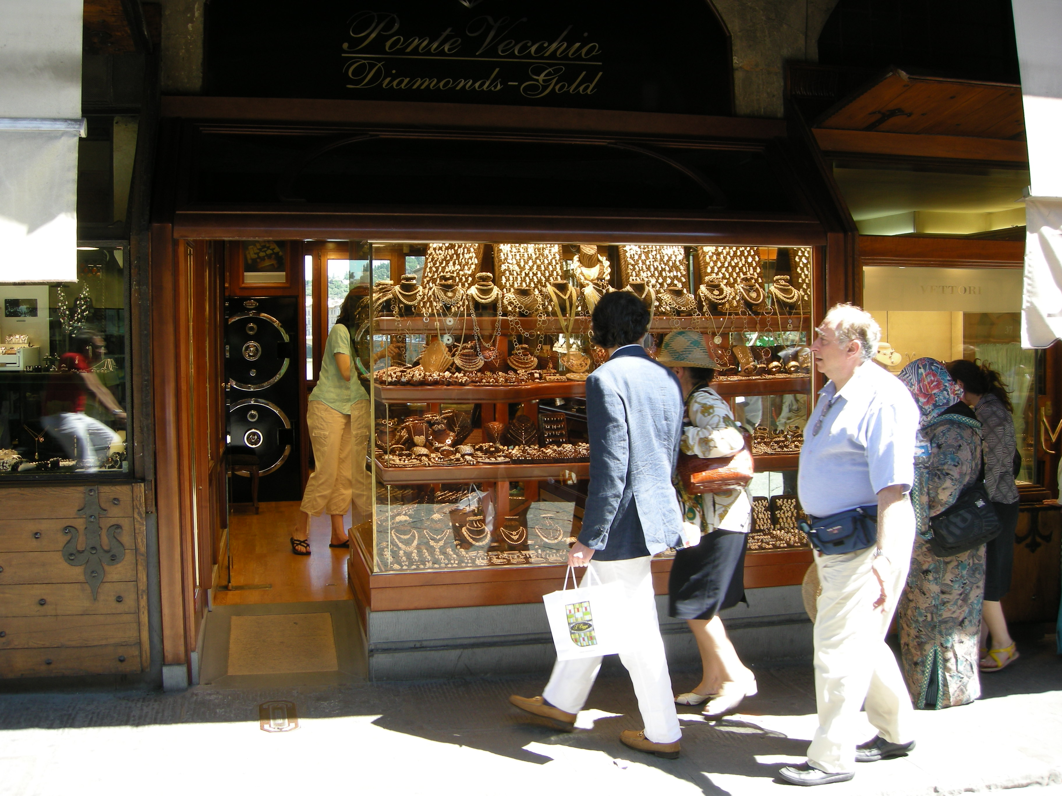 uma loja do Ponte Vecchio