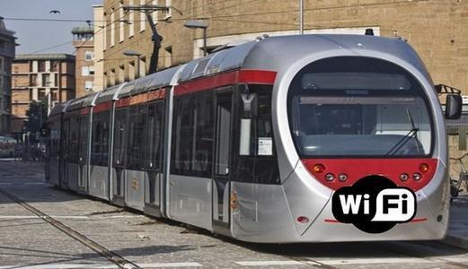 Wifi no Tram em Florença