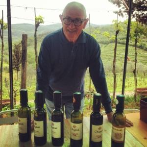 Fernando e seu vinhos, os meus Chianti preferidos