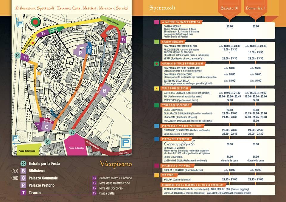 Mapa da Festa