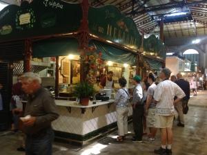 Um trippaio em Florença, que também pode ser classificado como
