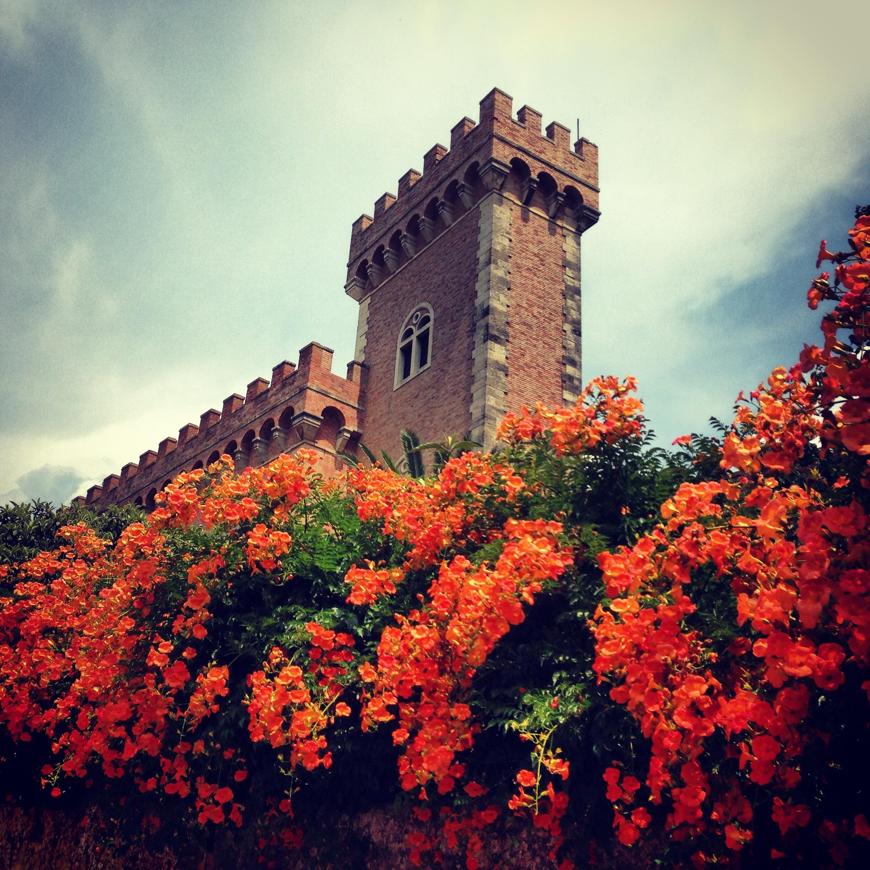 Castello de Bolgheri - entrada do centro histórico