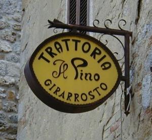 Uma trattoria na Toscana Fonte: wikipedia commons