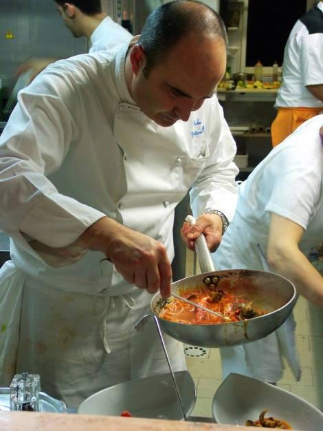 o chef foto original de: https://www.facebook.com/pages/Cene-Galeotte/269247679773825