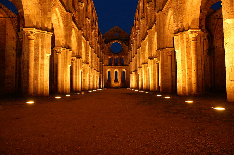 San Galgano Fonte: Wikipedia Commons