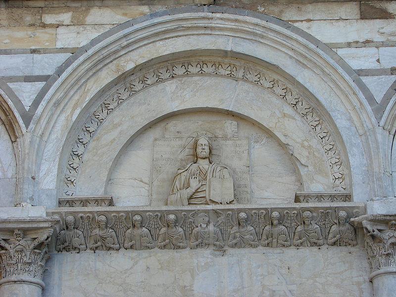San_Michele_degli_scalzi_Lunetta_centrale