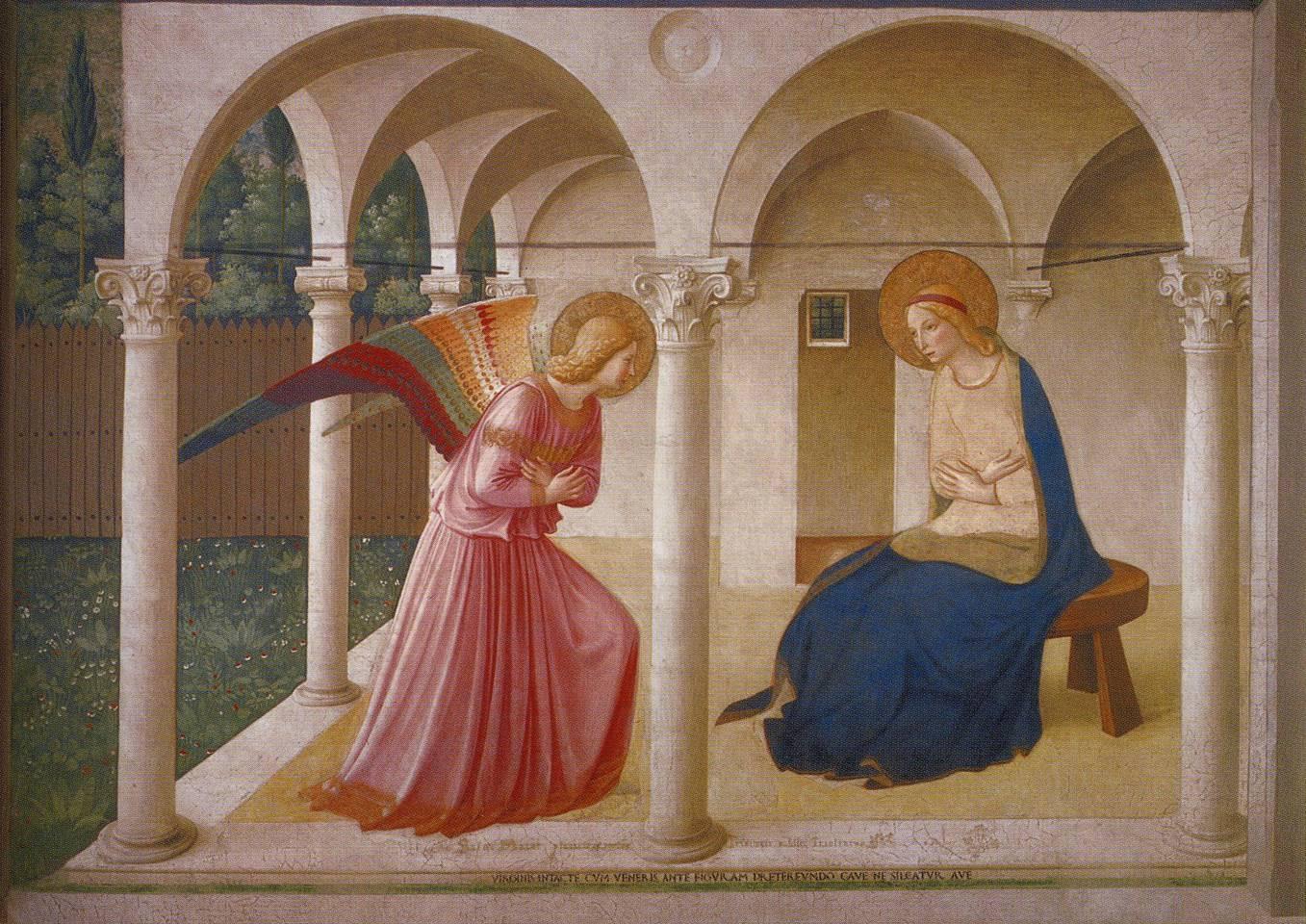 Anunciação de Beato Angélico