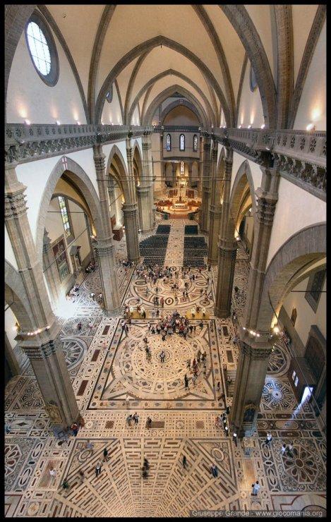 interno da Catedral