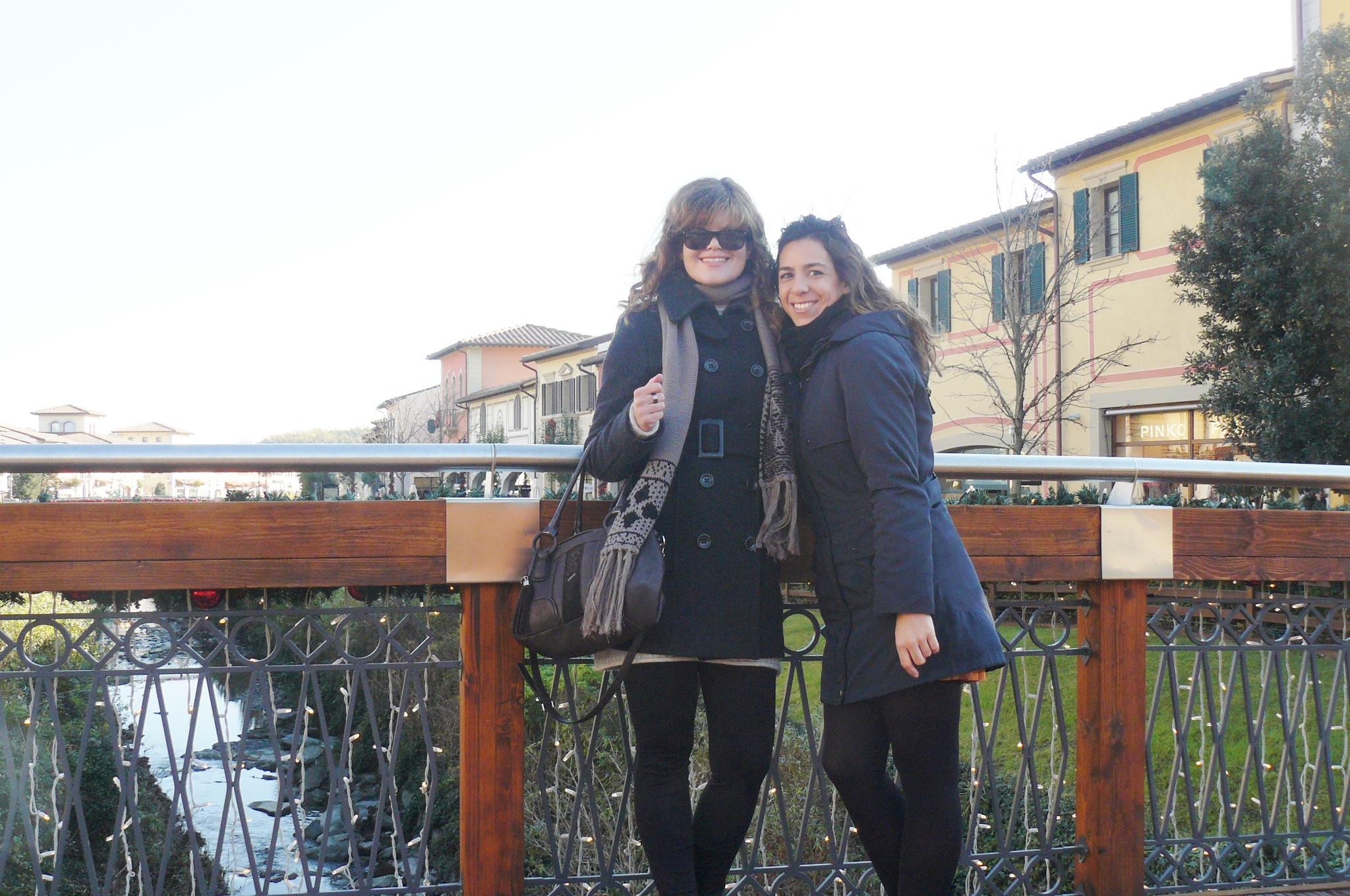 Eu com a Cristina Visconti