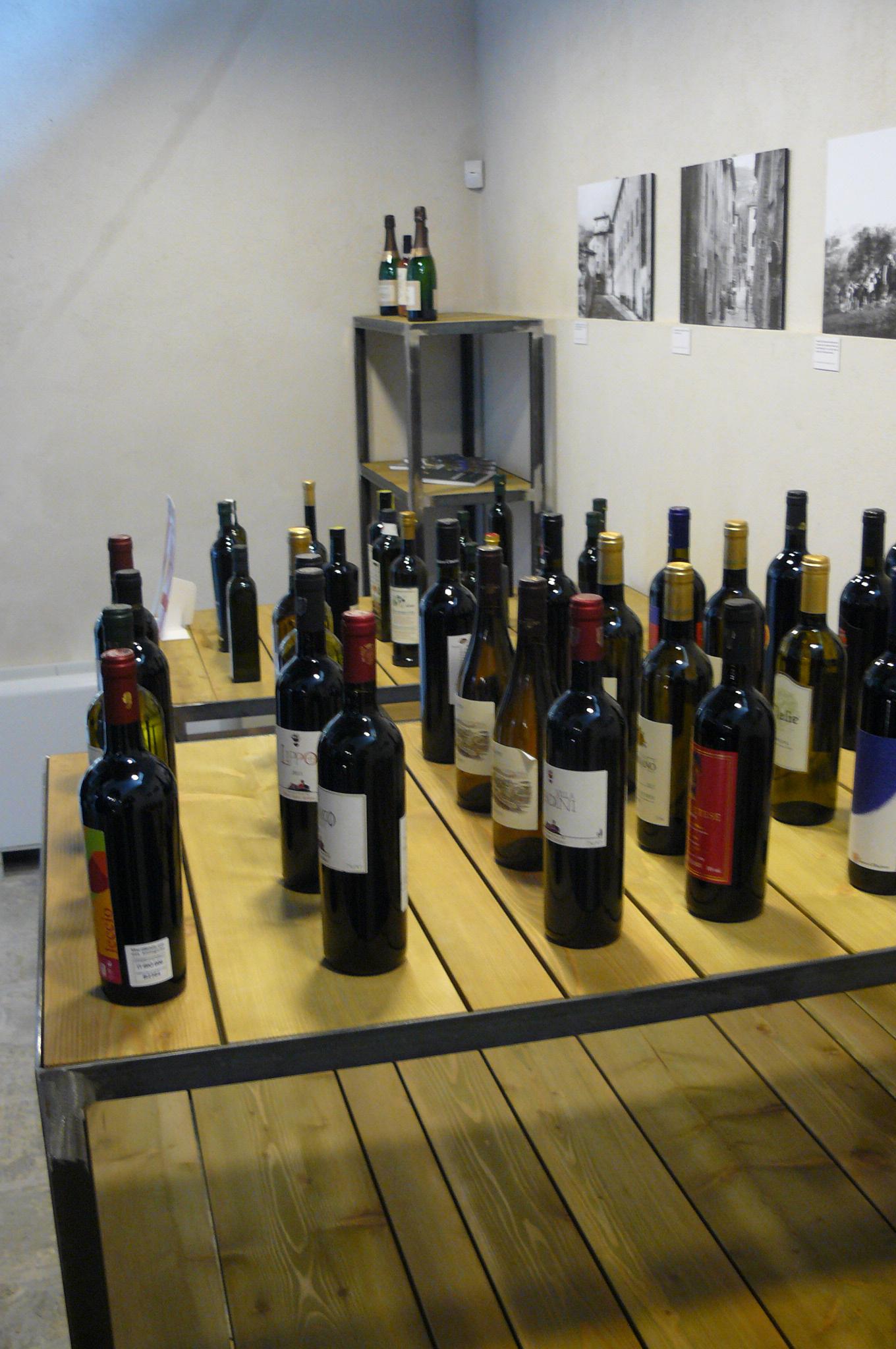 Alguns dos vinhos que serão apresentados no Evento