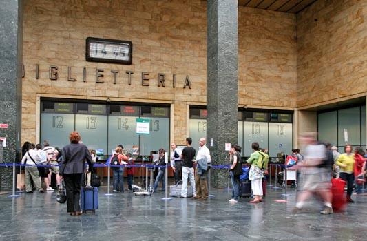Bilheteria da Estação de Santa Maria Novella