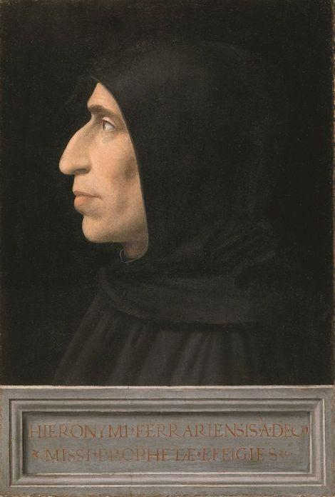 Fra Bartolomeo, ritratto di Girolamo Savonarola (1498) Foto: wikipedia Commons